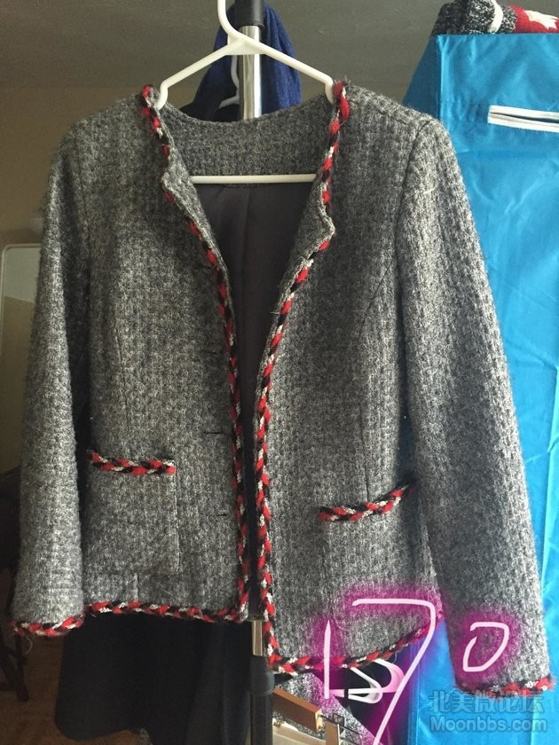 小香风格羊毛外套