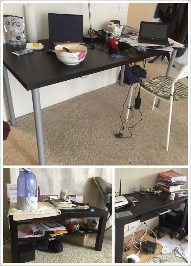 大书桌,双层茶几电视机台