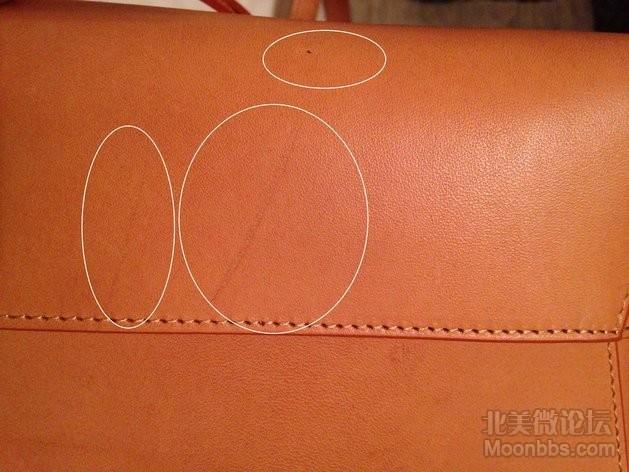 包底的小黑点和划痕