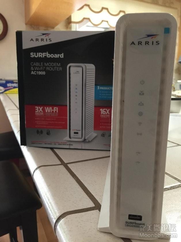 Arris AC1900 Modem兼Router