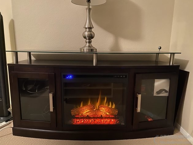 TV Stand With Electronic Fireplace 4.jpg
