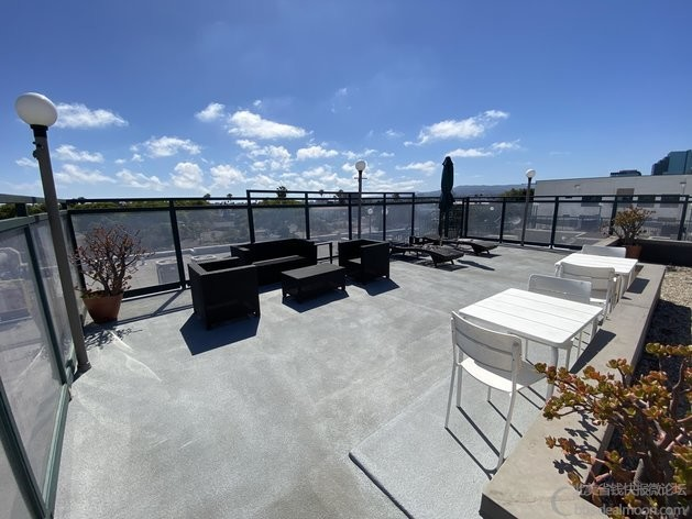屋顶common area