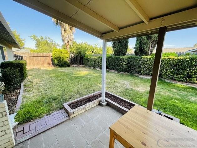 后院 patio