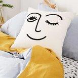 #经验# 制作沙发上的小心机--UO网红靠枕