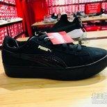 puma 小黑鞋