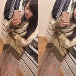 【Sweater Party】去年買的毛衣跟今年買的紗裙