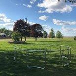 夏天给娃备的trampoline~