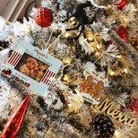 【圣诞树】雪花树