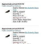 NM bug价的蝴蝶鞋到了