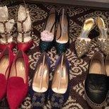 攒了一冬天的鞋