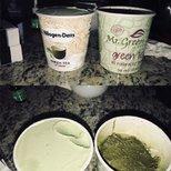 【减压】绿茶冰淇淋