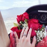 跟风晒个订婚戒指
