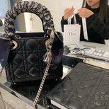晒一个Lady Dior三格