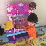 女儿的新玩具