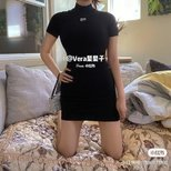 穿搭 Alexanderwang谁穿谁辣妹的21ss连衣裙