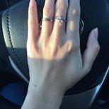 听说最近流行晒戒指?