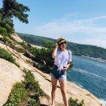 晒outfit和Acadia美景!