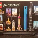 Lego 上海外滩+浦东金融中心 上海中心大厦+城隍庙+龙华寺+东方明珠