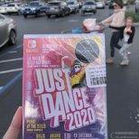 target店里自取了just dance 2020