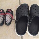 Crocs前几天两双35