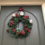 圣诞 wreath DIY