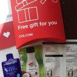 第一次收到CVS.COM的赠品小样