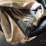 #经验# Barneys newyork的羊毛羊绒围巾3折收一条。。。