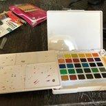给大家安利一套小清新气质的水彩,适合新手妹纸,可以...