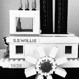 #经验#乐高LEGO 威利号蒸汽船