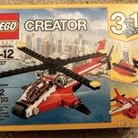 【圣诞礼物】lego直升机