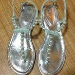 #经验#给大家种草一双超美的珍珠蝴蝶结凉鞋!!!