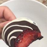 Costco巧克力草莓