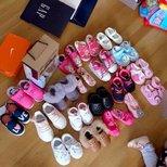 给女儿开个小鞋展。