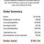 #经验#相当于免费的Amazon Sample Box