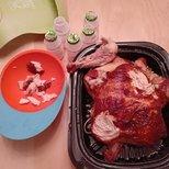 烤鸡的打开方式
