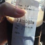 #经验#Nitro Cold Brew