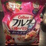 calbee 麦片