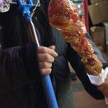 冰糖葫芦之草莓口味 update 豫园游灯会