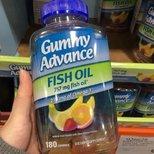 Costco gummy fish oil一瓶才三块多