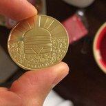 麥當勞50 週年金幣