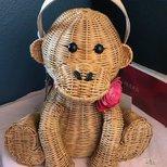 可爱kate spade小猴子包