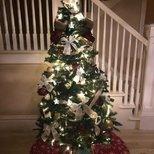 圣诞还没有来就自己做了圣诞树
