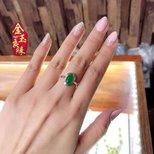 最近流行晒戒指
