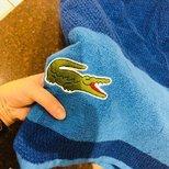 #经验#12.99刀的鳄鱼浴巾。。。