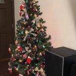 【圣诞树】我们三口之家的第一棵圣诞树