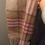 Saks羊绒围巾