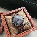 适合做七夕礼物的木制手表~开心!