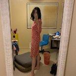 hm 印花裙