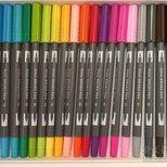 【prime day大丰收】dual brush pens