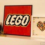 搞定了Lego logo和几幅minifigures